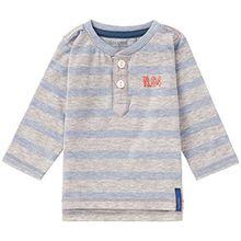 Noppies Baby-Jungen Langarmshirt B Tee LS Fulton, Blau (Light Blue Melange C132), 68