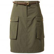 Craghoppers - Women's Nosilife Savannah Skirt - Rock Gr 10;12;14;16;18;20 oliv/braun;beige/weiß