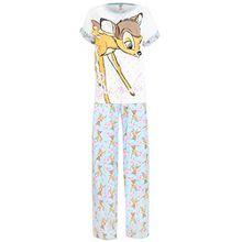 Disney Bambi Damen Bambi Schlafanzug Small