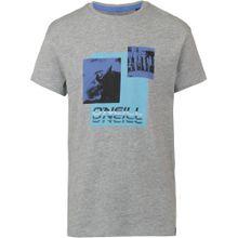 O'NEILL T-Shirt blau / hellblau / graumeliert