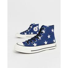 Converse - Chuck '70 - Sneaker mit Sternenmuster - Blau