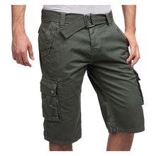 SUBLEVEL Chinoshorts 60315 Shorts grün Herren