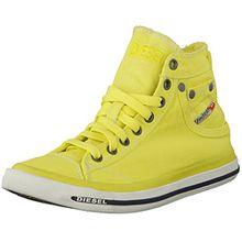 DIESEL - Damen Sneakers Chukka boots EXPOSURE IV W - Gelb (Green Sheen T3016), 40