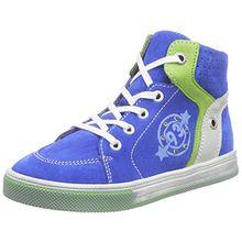 Richter Kinderschuhe Ola, Jungen Hohe Sneakers, Blau (Lagoon/Apple/Panna 6911), 29 EU