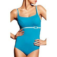 Chantelle Damen Badeanzug Blau Aqua