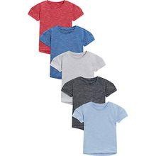 T-Shirts 5er Pack  mehrfarbig Jungen Baby