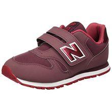 New Balance Unisex-Kinder Sneaker, Pink (Dark Pink/Red), 30 EU (11.5 UK Child)