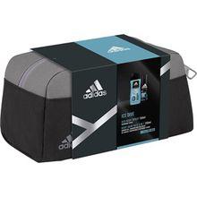 adidas Herrendüfte Ice Dive Geschenkset Deodorant Body Spray 150 ml + 3 in 1 Shower Gel 250 m + Kosmetiktasche 1 Stk.