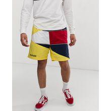 Tommy Jeans - Summer Heritage Capsule - Gelbe Shorts mit großem Flaggenlogo - Gelb