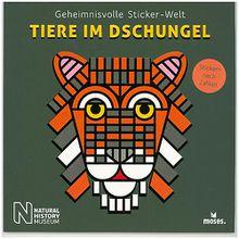 Buch - Geheimnisvolle Sticker-Welt: Tiere im Dschungel