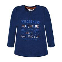 Kanz Jungen T-Shirt 1722573, Blau (Estate Blue 3380), 86