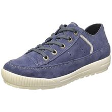 Superfit Siena, Mädchen Sneakers, Blau (Moonlight 90), 36 EU