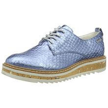 Bugatti Damen V7001PR6N Sneakers, Blau (Jeans 455), 37 EU