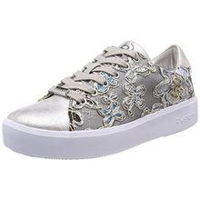 Bugatti Damen 421407055969 Sneaker, Silber (Silver/Multicolour), 40 EU