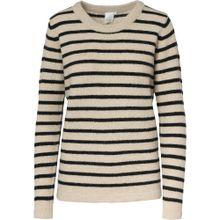 ICHI Pullover beige / schwarz