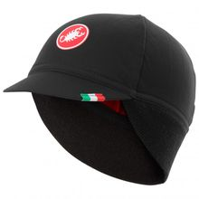 Castelli - Difesa Thermal Cap - Radmütze Gr One Size schwarz