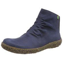 El Naturalista N755 Nido, Damen Kurzschaft Stiefel, Blau (Ocean), 40 EU