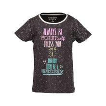 BLUE SEVEN T-Shirt für Mädchen dunkelbraun