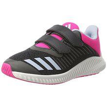 adidas FortaRun CF K, Unisex-Kinder Sneakers,Grau (Dkgrey/Easblu/Shopin), 31 EU