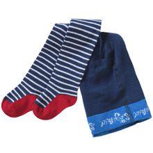 SIGIKID Baby Strumpfhose für Jungen blau