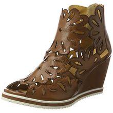 GERRY WEBER Shoes Damen Adriana 06 Kurzschaft Stiefel, Braun (Cognac), 39 EU