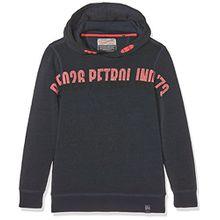 PETROL INDUSTRIES Jungen Kapuzen-Sweatshirt B-FW17-SWH336-5024, Bleu (Dark Capri), 14 Jahre