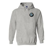 BMW Logo M Power/Tech Pocket Print Novelty Grey Men Women Unisex Hooded Sweatshirt Hoodie-M