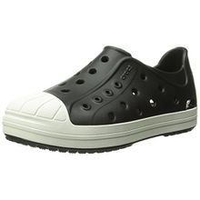 crocs Bump It Shoe Kids, Unisex - Kinder Low-Top, Schwarz (Black/Oyster), 23/24 EU