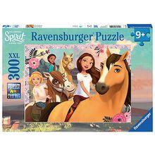 Puzzle, 300 Teile XXL, 49x36 cm, Spirit Abenteuer auf Pferden