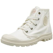 Palladium Damen Pampa Hi Hohe Sneakers, Weiß (Marshmallow/Marshmallow), 37 EU