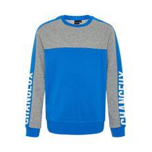 NAME IT Sweatshirt blau / graumeliert / weiß