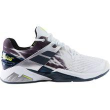 Babolat - Propulse Fury Clay Herren Tennisschuh (weiß/schwarz) - EU 43 - UK 9