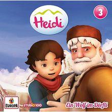 CD Heidi 3 - Ein Wolf im Dörfli Hörbuch