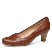 EVITA Damen Pumps GIUSY Klassische Pumps braun Damen