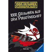 Buch - 1000 Gefahren: 1000 Gefahren auf dem Piratenschiff