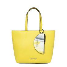 Calvin Klein Shopper 'CK MUST MEDIUM SHOPPER' gelb / schwarz