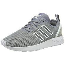 adidas ZX Flux Advanced, Unisex-Erwachsene Low-Top Sneaker, Grau (Grey/Grey/FTWR White), 46 2/3 EU