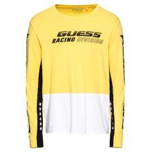 GUESS Shirt gelb / schwarz / weiß