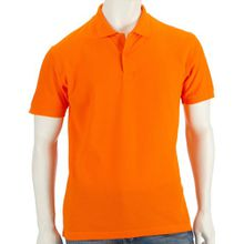 POLOSHIRT FRUIT OF THE LOOM 65/35 S M L XL XXL XXL,Orange