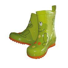 Maximo Kinder-Gummistiefel Regen-Stiefel Modell Frosch Kinder-Stiefel, Größe:26