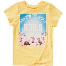 T-Shirt NKFKAROLINA  gelb Mädchen Kinder