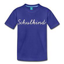 Spreadshirt Einschulung Schulkind Kinder Premium T-Shirt, 122/128 (6 Jahre), Königsblau