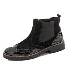 Salamander Birgit Chelsea Boots, Groesse 36, Schwarz