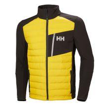 HELLY HANSEN 'Insulator' Funktionsjacke gelb / schwarz
