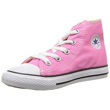 Converse Unisex-Kinder All Star Hohe Sneakers, Pink, 25 EU