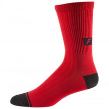 FOX Racing - 8'' Trail Sock - Radsocken Gr L/XL;S/M schwarz;rot