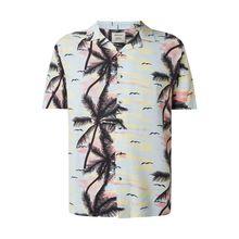 Regular Fit Freizeithemd aus Viskose Modell 'Akthim'