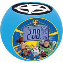 Toy Story - Radiowecker mit Projektor mehrfarbig