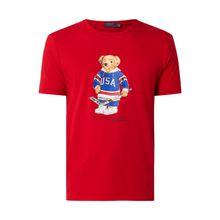 T-Shirt mit Polo Bear-Print
