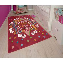 Kinderteppich Glowy Mandala